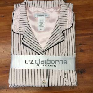 Liz Claiborne Brushed Knit Pajamas